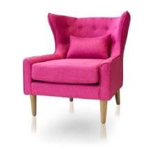 Harper Accent Chair Pink