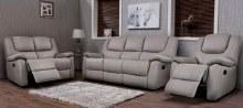 Harvey leather sofa taupe