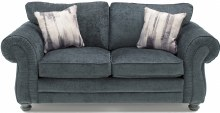 Hollins 2 Seater Charcoal Sofa