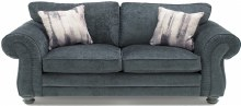 Hollins 3 Seater Charcoal Sofa