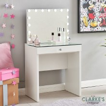 Hollywood Kids Vanity Table with Mirror