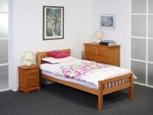 Katie solid pine 3ft bed frame
