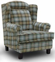Manor Wing Chair Green