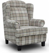 Manor Wing Chair Beige