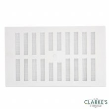 """Map White Adjustable Vent with Fixed Flyscreen 9"""" x 6"""""""