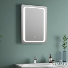 Tema Miramare LED Back-Lit Bathroom Mirror 50x70cm