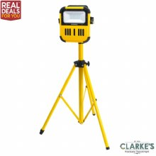 Faithfull Power Plus Bluetooth Cordless Tripod Site Light