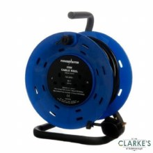Powermaster 2 Gang Cable Reel 25 Meter