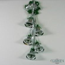 Premier Hanging Bell Cluster Silver 63.cm