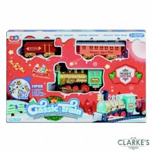 Premier Classic Christmas Train Set Battery Operated