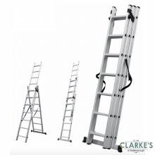ProTool 3 Section Extension Ladder 5.74 Meter