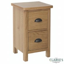 Purdi Oak Small Bedside Locker