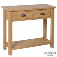 Purdi Oak Console Table