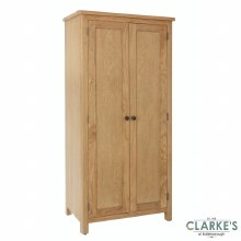 Purdi Oak Full Hanging Wardrobe