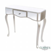 Reflection Mirrored 1 Drawer Console Table