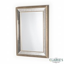 Reflection Antique Champagne Mirror 90cm