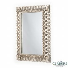 Reflection Rectangular Champagne Wall Mirror 89 x 119cm