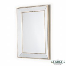 Reflection Champagne Wall Mirror 102cm