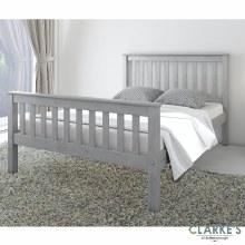 Rio 4ft6 Bed Frame Grey