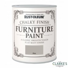 Rust-Oleum Chalky Finish Furniture Paint Flint 125 ml
