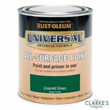 Rust-Oleum Universal All-Surface Paint Emerald Green 250 ml