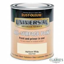 Rust-Oleum Universal All-Surface Paint Heirloom White 250 ml
