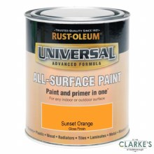Rust-Oleum Universal All-Surface Paint Sunset Orange 250 ml