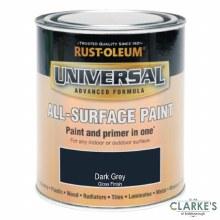 Rust-Oleum Universal All-Surface Paint Dark Grey 750 ml