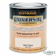 Rust-Oleum Universal All-Surface Paint Warm Taupe 750 ml