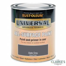 Rust-Oleum Universal All-Surface Paint Slate Grey 250 ml