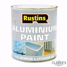 Rustins Aluminium Paint 250 ml