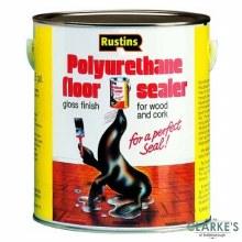 Rustins Polyurethane Floor Sealer Gloss Clear 1 Litre