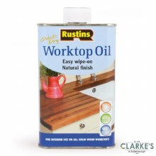 Rustins Quick Dry Worktop Oil 1 Litre