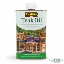 Rustins Teak Oil 500 ml