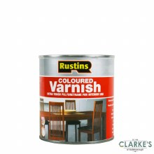 Rustins Polyurethene Varnish Gloss Mahogany 250ml