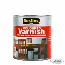 Rustins Polyurethene Varnish Gloss Clear 500ml