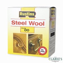 Rustins Steel Wool Grade 00 Extra Fine