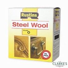 Rustins Steel Wool Grade 0 Fine