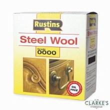 Rustins Steel Wool Grade 0000 Ultra Fine
