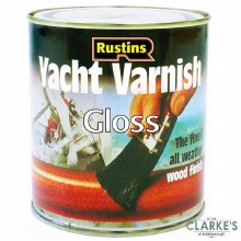 Rustins Yacht Varnish Gloss Clear 250 ml