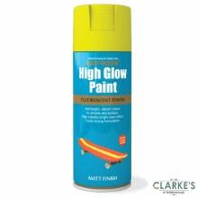 Rust-Oleum High Glow Spray Paint Yellow 400 ml