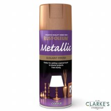 Rust-Oleum Metallic Spray Paint Copper 400 ml