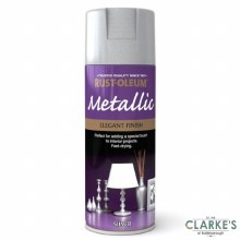 Rust-Oleum Metallic Spray Paint Silver 400 ml
