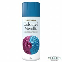 Rust-Oleum Coloured Metallic Spray Paint Blue 400 ml
