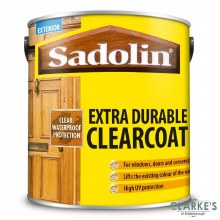 Sadolin Extra Durable Clearcoat Woodstain 2.5 Litre