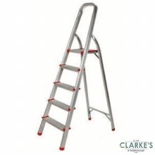 Safeline Aluminium 5 Step Ladder