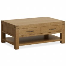 Sherwood Coffee Table with Drawers