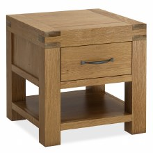 Sherwood Lamp Table with Drawer
