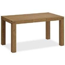 Sherwood Rustic Oak Extending Dining Table 110cm