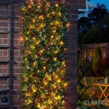 Solar In-Lit 75 LED Ivy Trellis 180 x 90cm